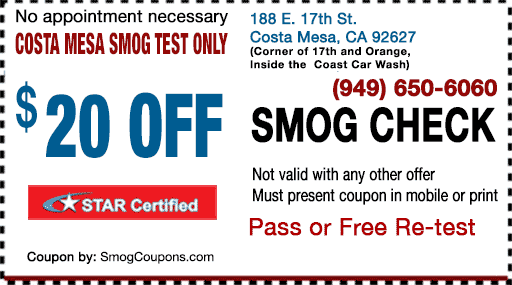 Smog Test Only Station
